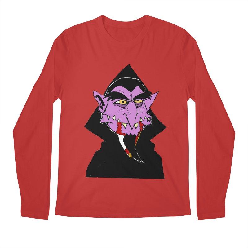 Count Von Count Men's Longsleeve T-Shirt by tjjudgeillustration's Artist Shop