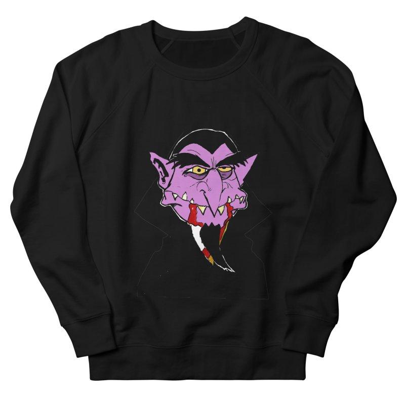 Count Von Count Women's French Terry Sweatshirt by tjjudgeillustration's Artist Shop