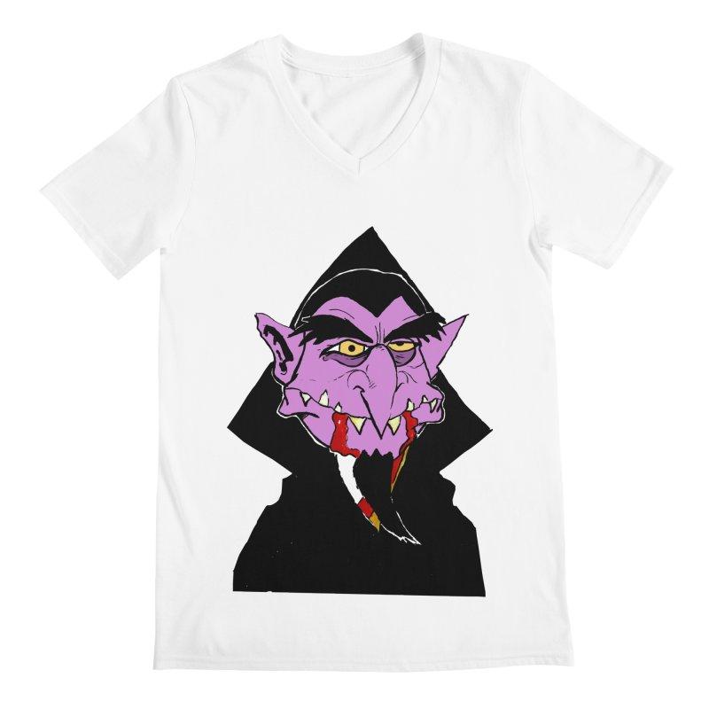 Count Von Count Men's V-Neck by tjjudgeillustration's Artist Shop