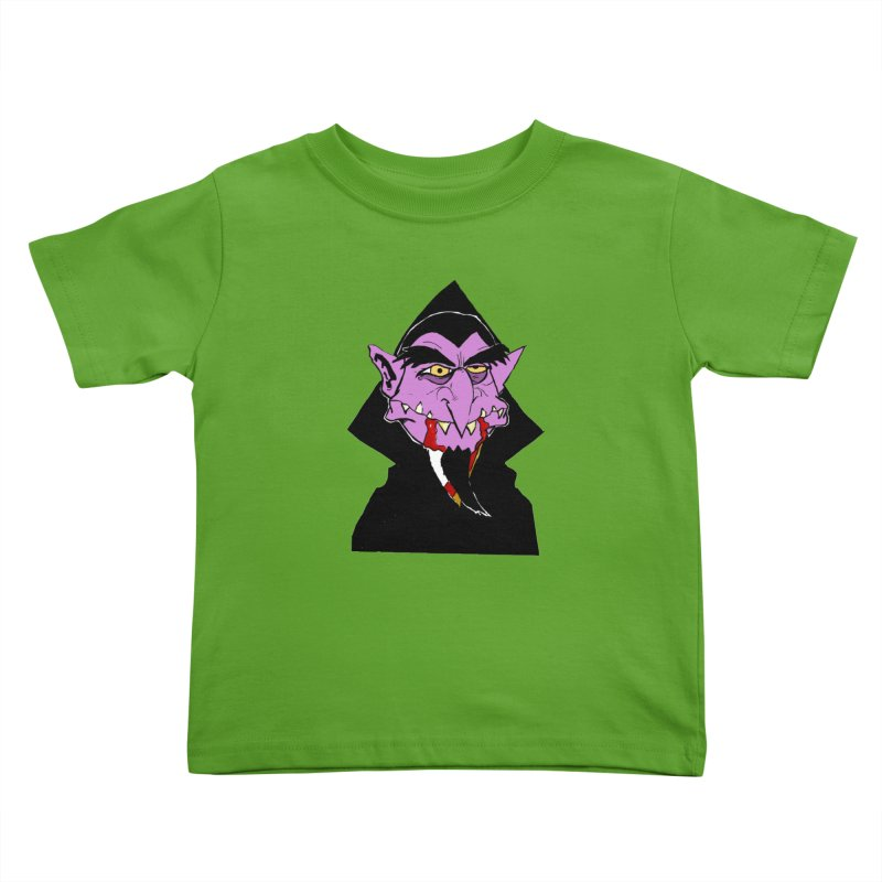 Count Von Count Kids Toddler T-Shirt by tjjudgeillustration's Artist Shop