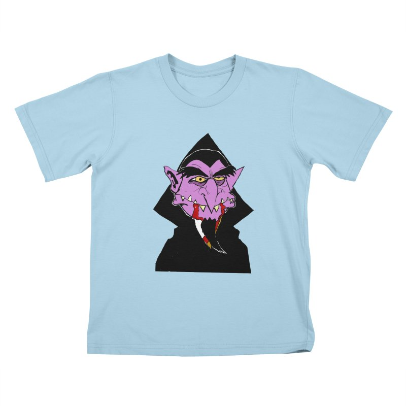 Count Von Count Kids T-Shirt by tjjudgeillustration's Artist Shop