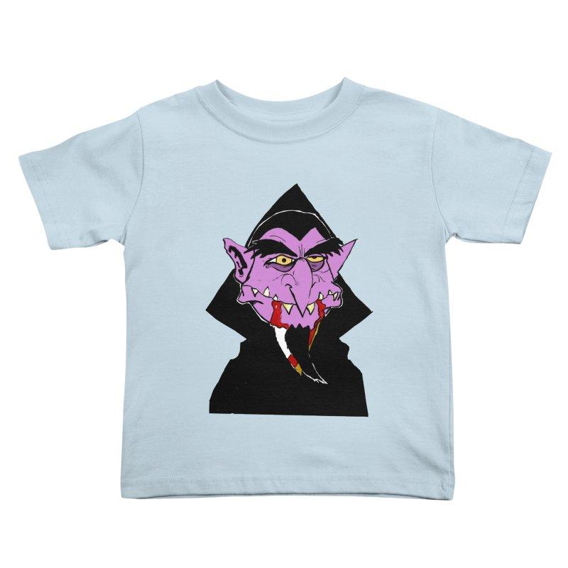 Count Von Count Kids Toddler T-Shirt by tjjudgeillustration's Artist Shop
