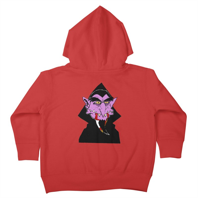 Count Von Count Kids Toddler Zip-Up Hoody by tjjudgeillustration's Artist Shop