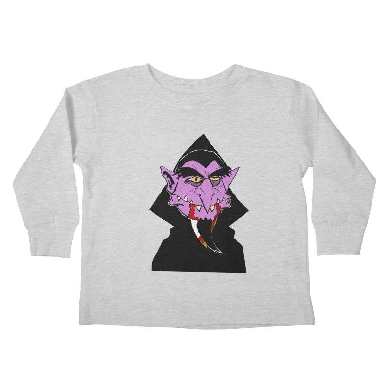Count Von Count Kids Toddler Longsleeve T-Shirt by tjjudgeillustration's Artist Shop