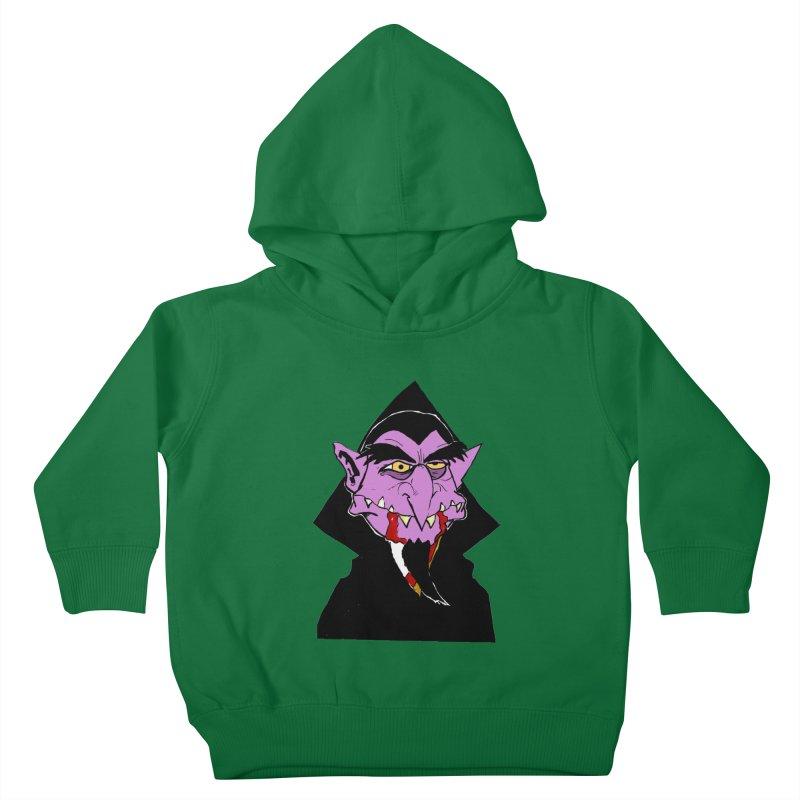 Count Von Count Kids Toddler Pullover Hoody by tjjudgeillustration's Artist Shop