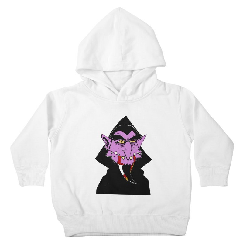 Count Von Count Kids Toddler Pullover Hoody by tjjudgeillustration's Artist Shop