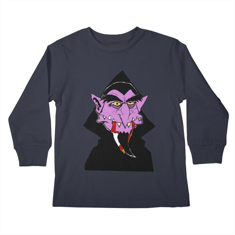 Count Von Count Kids Longsleeve T-Shirt by tjjudgeillustration's Artist Shop