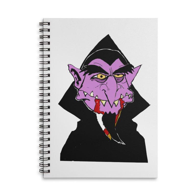 Count Von Count Accessories Notebook by tjjudgeillustration's Artist Shop