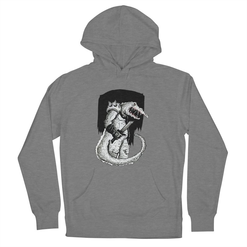 Croc Soldier Women's Pullover Hoody by tjjudgeillustration's Artist Shop
