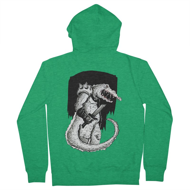 Croc Soldier Men's Zip-Up Hoody by tjjudgeillustration's Artist Shop
