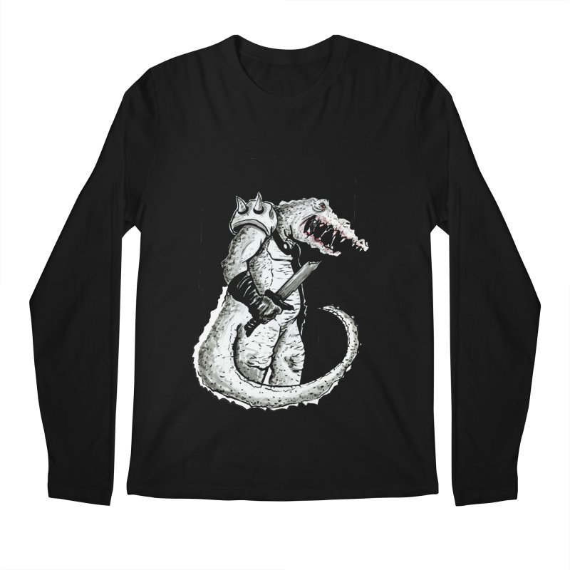 Croc Soldier Men's Longsleeve T-Shirt by tjjudgeillustration's Artist Shop