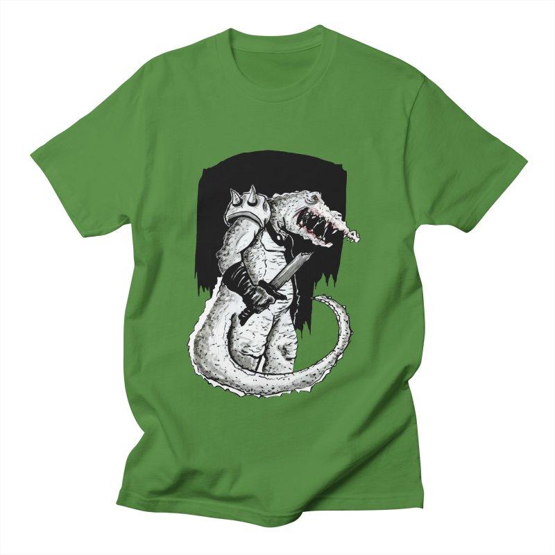 Croc Soldier Men's Regular T-Shirt by tjjudgeillustration's Artist Shop