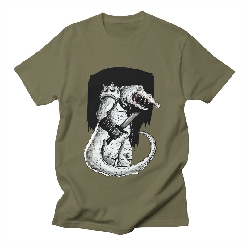 Croc Soldier Women's Regular Unisex T-Shirt by tjjudgeillustration's Artist Shop