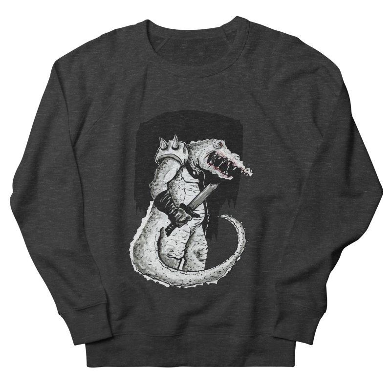 Croc Soldier Women's French Terry Sweatshirt by tjjudgeillustration's Artist Shop