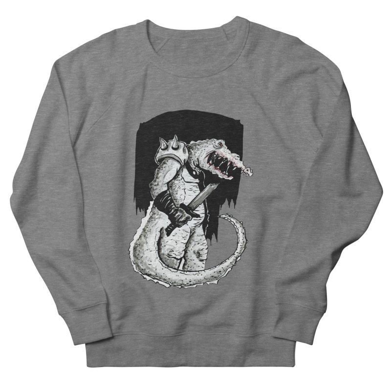 Croc Soldier Men's Sweatshirt by tjjudgeillustration's Artist Shop