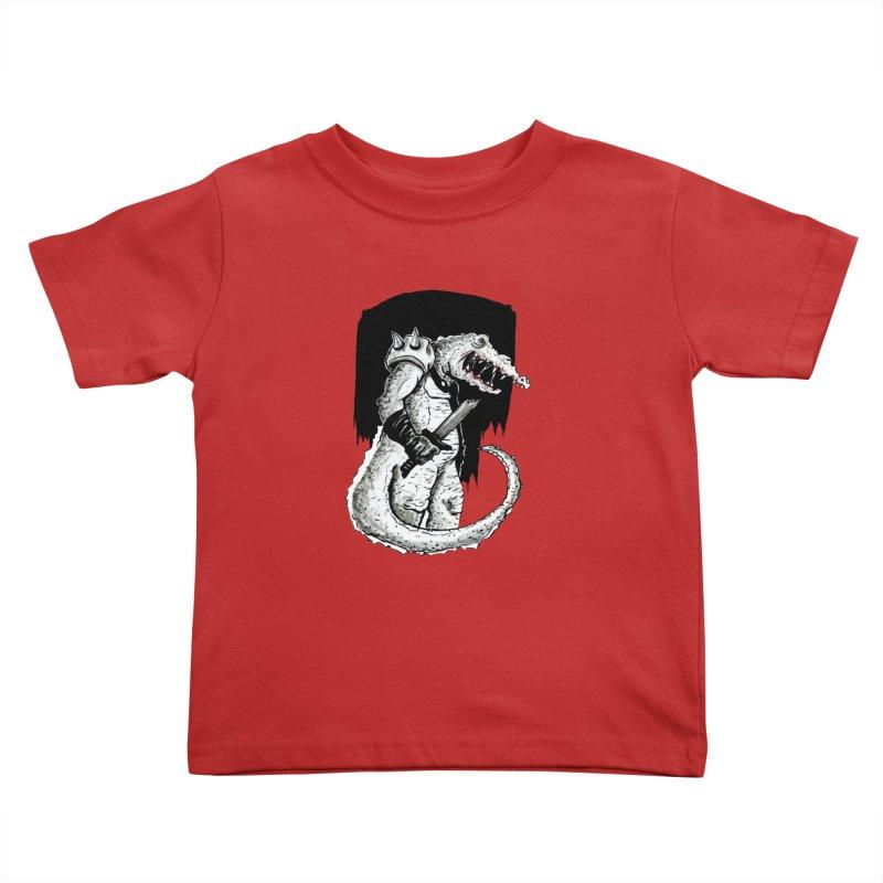 Croc Soldier Kids Toddler T-Shirt by tjjudgeillustration's Artist Shop