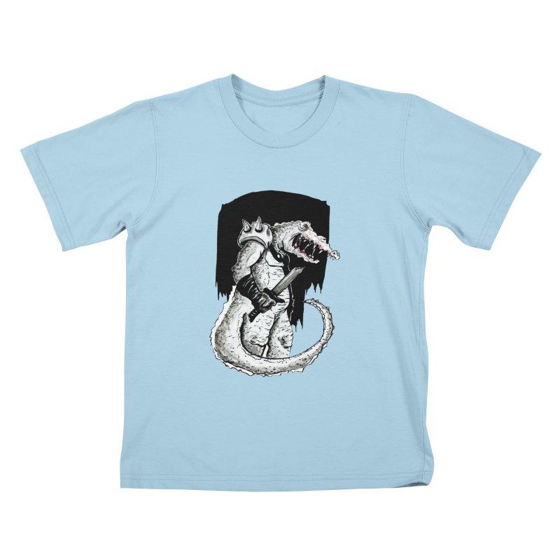 Croc Soldier Kids T-Shirt by tjjudgeillustration's Artist Shop