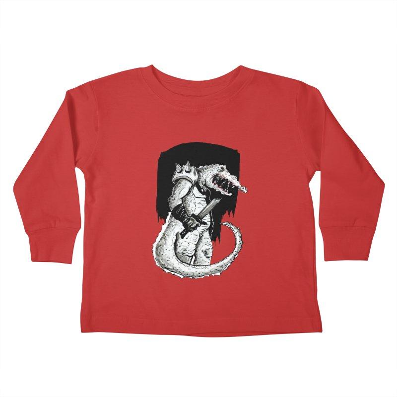 Croc Soldier Kids Toddler Longsleeve T-Shirt by tjjudgeillustration's Artist Shop