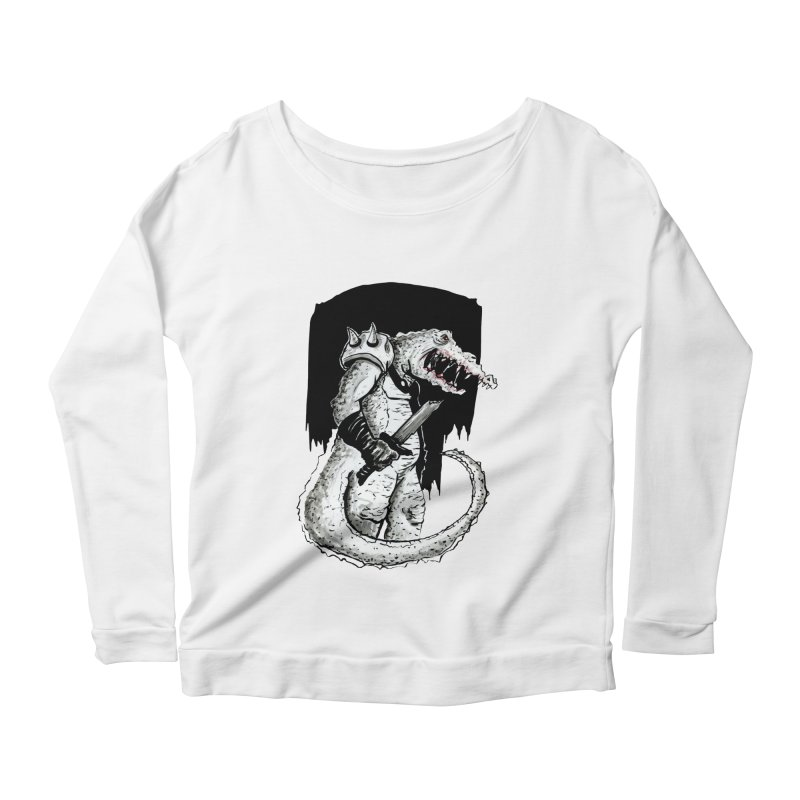 Croc Soldier Women's Scoop Neck Longsleeve T-Shirt by tjjudgeillustration's Artist Shop