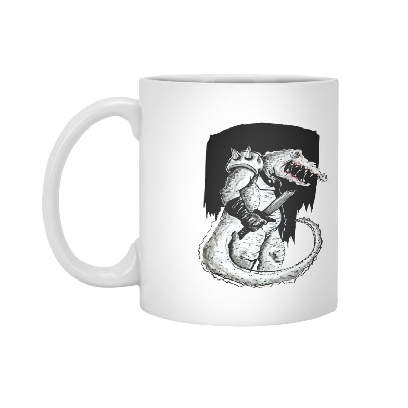 Croc Soldier Accessories Mug by tjjudgeillustration's Artist Shop