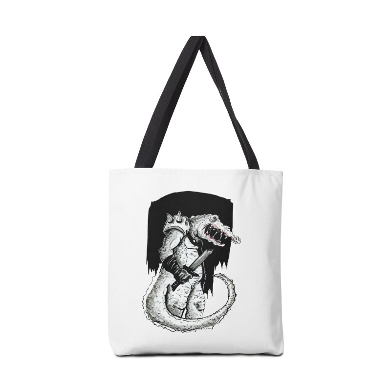 Croc Soldier Accessories Bag by tjjudgeillustration's Artist Shop