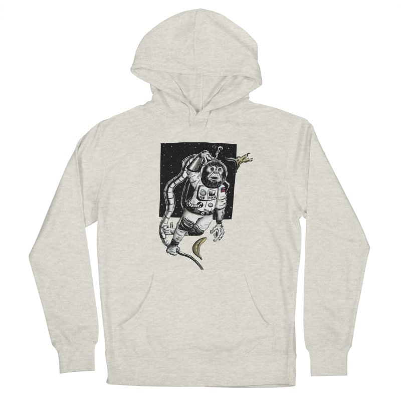 Space Chimp Men's Pullover Hoody by tjjudgeillustration's Artist Shop