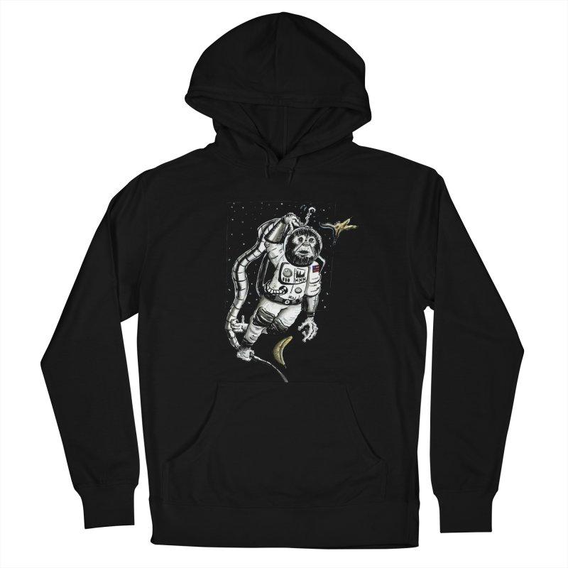 Space Chimp Men's Pullover Hoody by tjjudgeillustration's Artist Shop