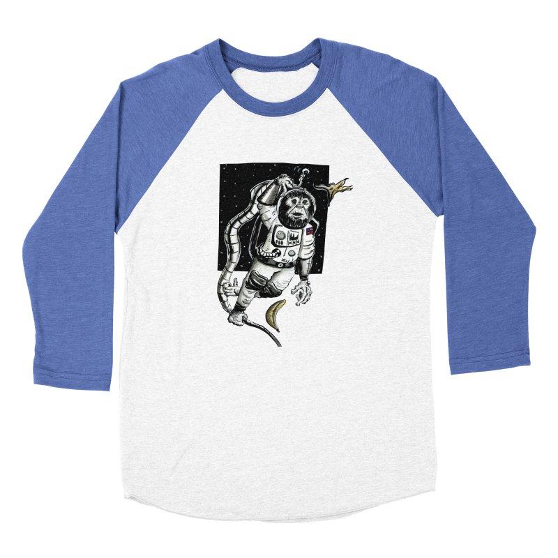 Space Chimp Women's Longsleeve T-Shirt by tjjudgeillustration's Artist Shop