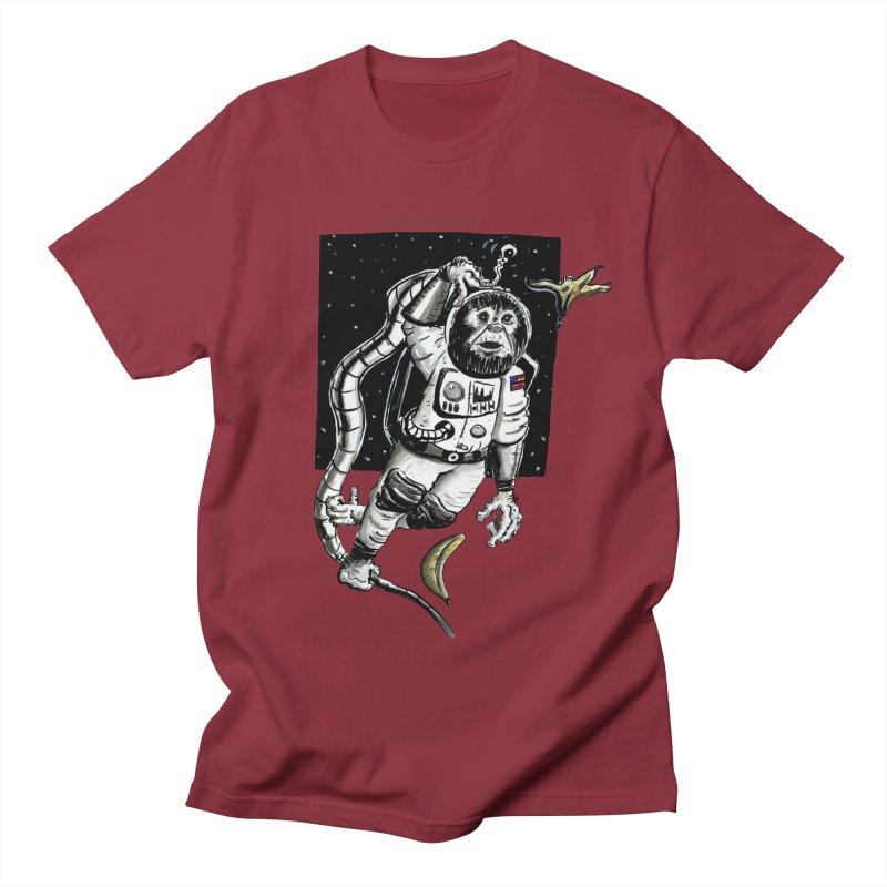 Space Chimp Women's T-Shirt by tjjudgeillustration's Artist Shop
