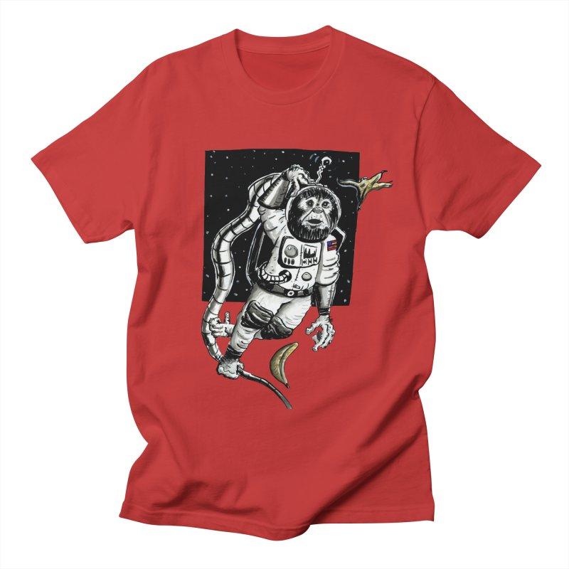 Space Chimp Men's T-Shirt by tjjudgeillustration's Artist Shop