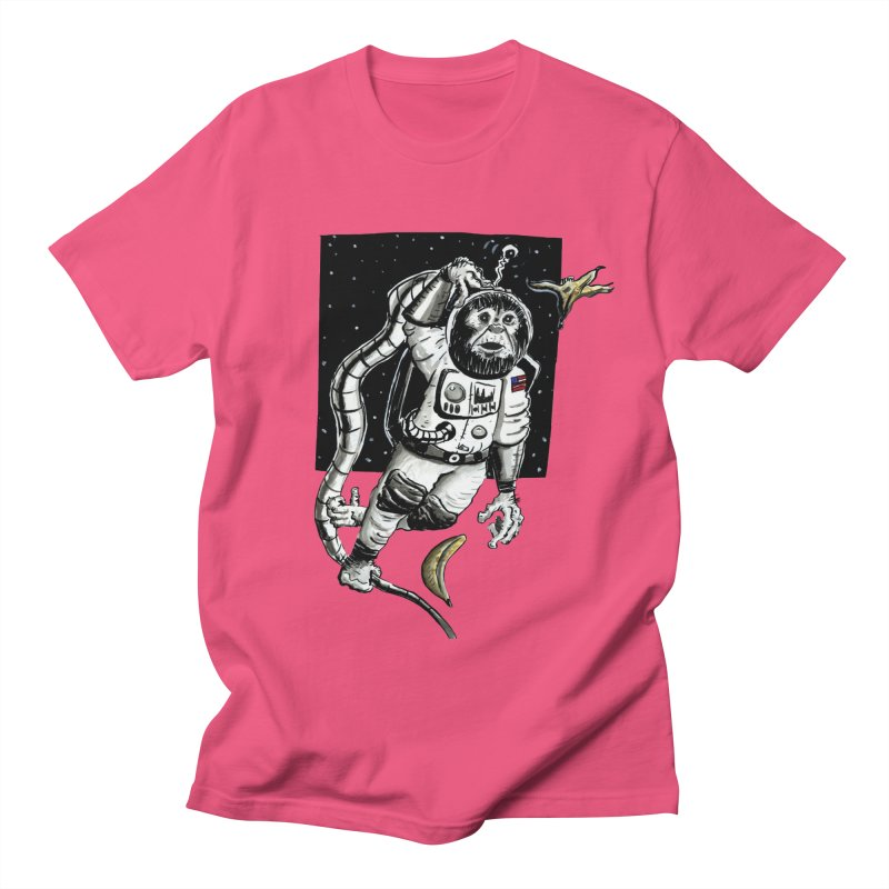 Space Chimp Men's T-Shirt by tjjudgeillustration's Artist Shop