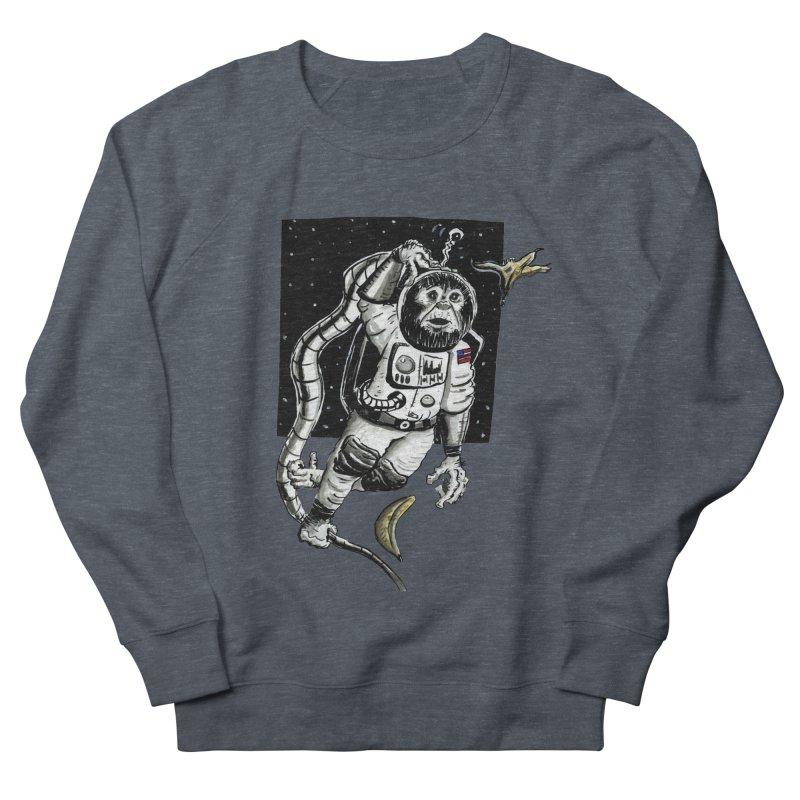 Space Chimp Women's Sweatshirt by tjjudgeillustration's Artist Shop