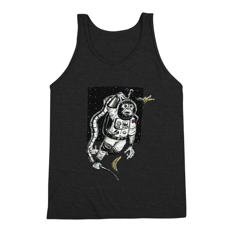 Space Chimp Men's Tank by tjjudgeillustration's Artist Shop