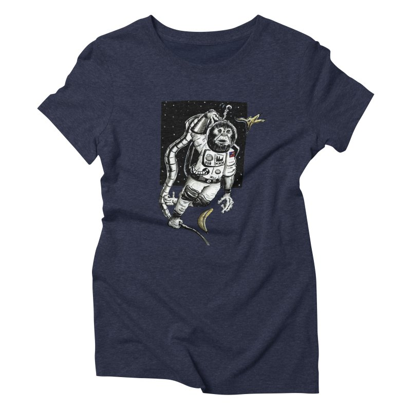 Space Chimp Women's T-Shirt by tjjudgeillustration's Artist Shop