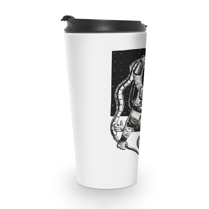 Space Chimp Accessories Mug by tjjudgeillustration's Artist Shop