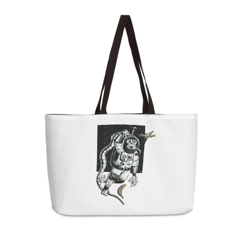 Space Chimp Accessories Bag by tjjudgeillustration's Artist Shop