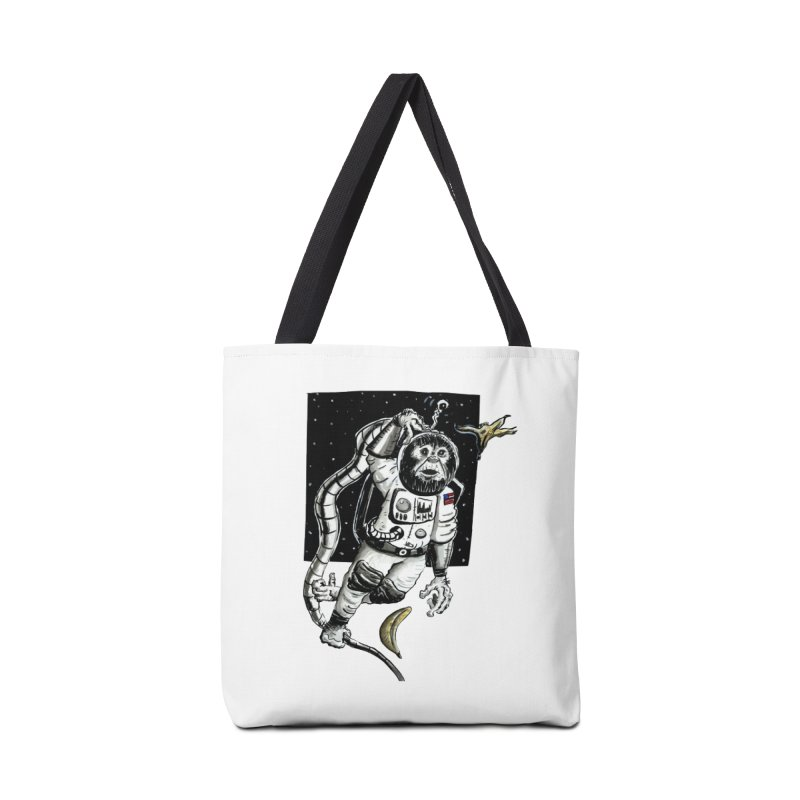 Space Chimp Accessories Bag by tjjudgeillustration's Artist Shop
