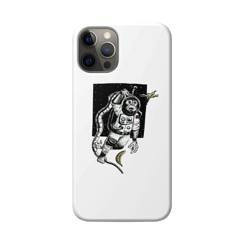 Space Chimp Accessories Phone Case by tjjudgeillustration's Artist Shop