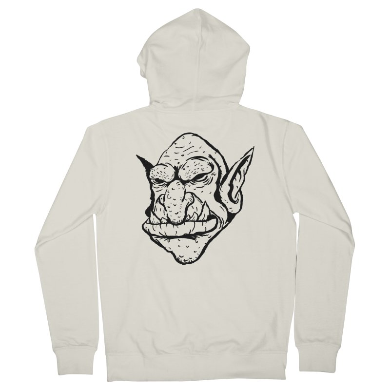 Goblin Women's French Terry Zip-Up Hoody by tjjudgeillustration's Artist Shop