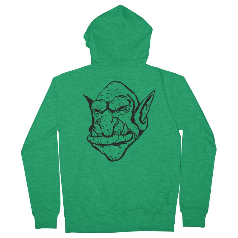 Goblin Men's French Terry Zip-Up Hoody by tjjudgeillustration's Artist Shop