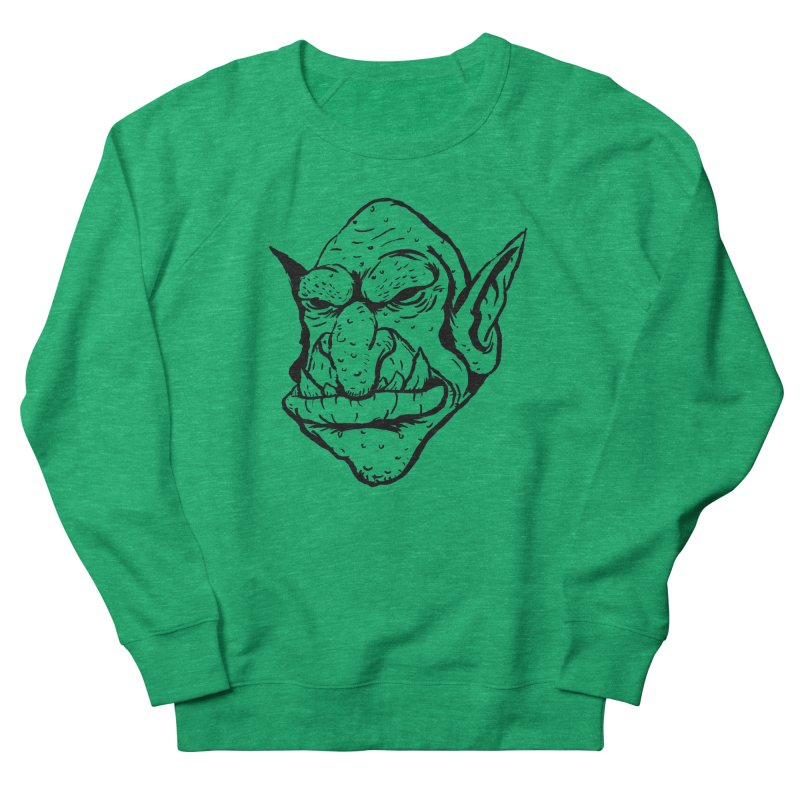 Goblin Women's French Terry Sweatshirt by tjjudgeillustration's Artist Shop