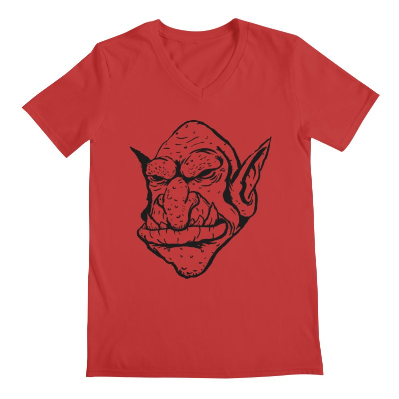 Goblin Men's Regular V-Neck by tjjudgeillustration's Artist Shop