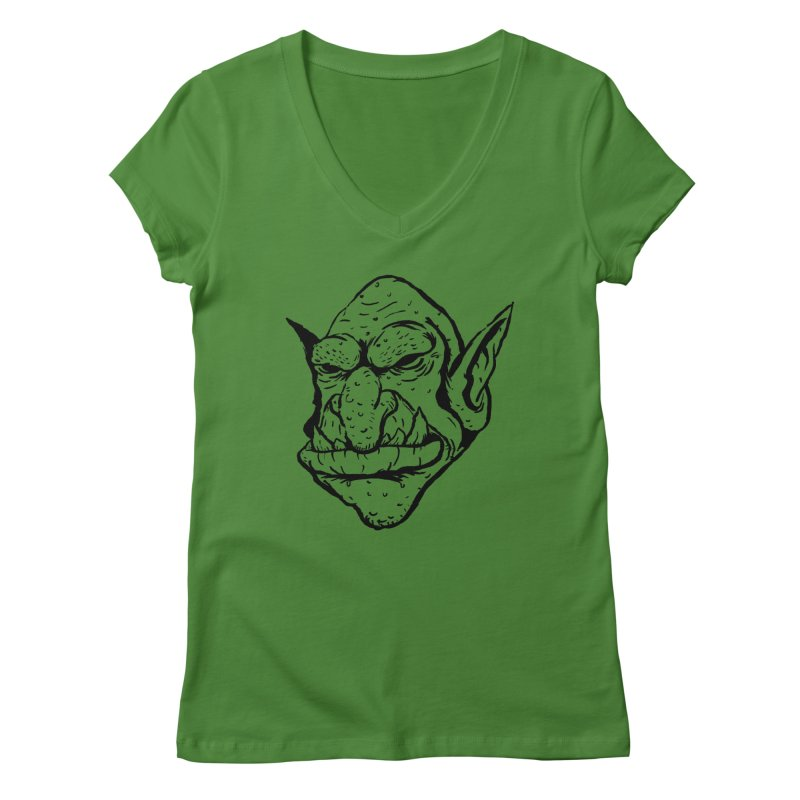 Goblin Women's V-Neck by tjjudgeillustration's Artist Shop