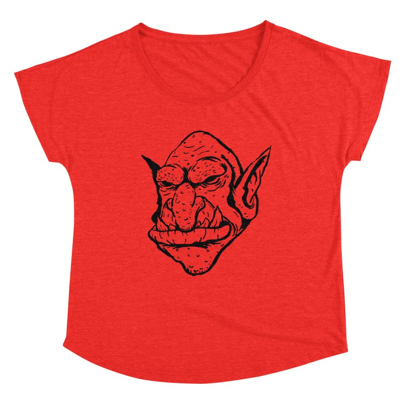 Goblin Women's Scoop Neck by tjjudgeillustration's Artist Shop