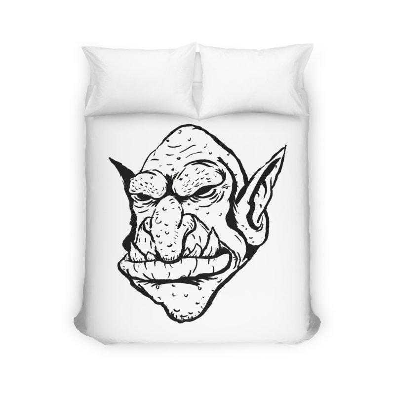 Goblin Home Duvet by tjjudgeillustration's Artist Shop
