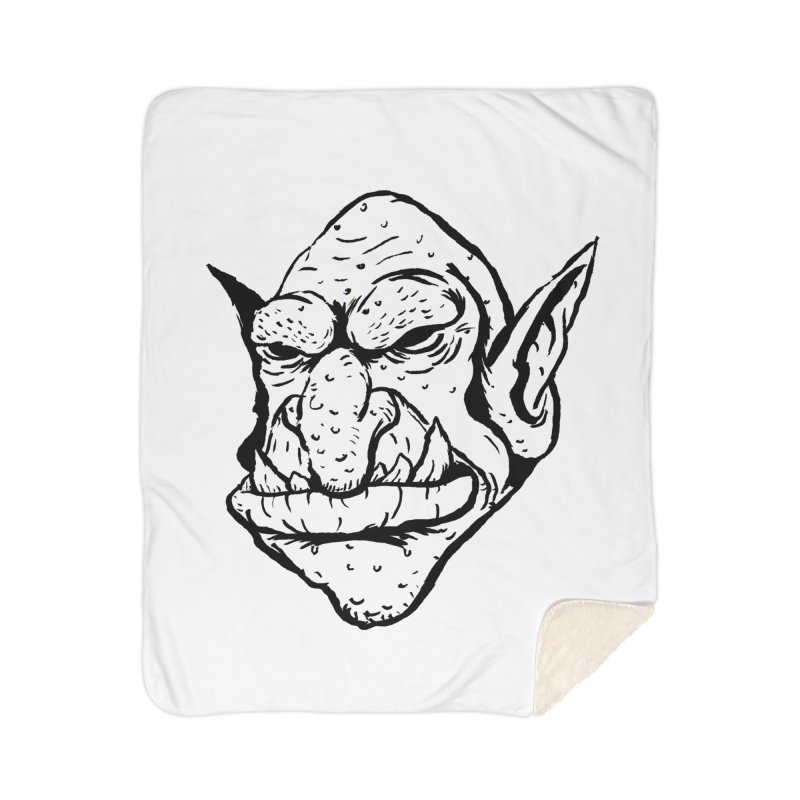 Goblin Home Sherpa Blanket Blanket by tjjudgeillustration's Artist Shop