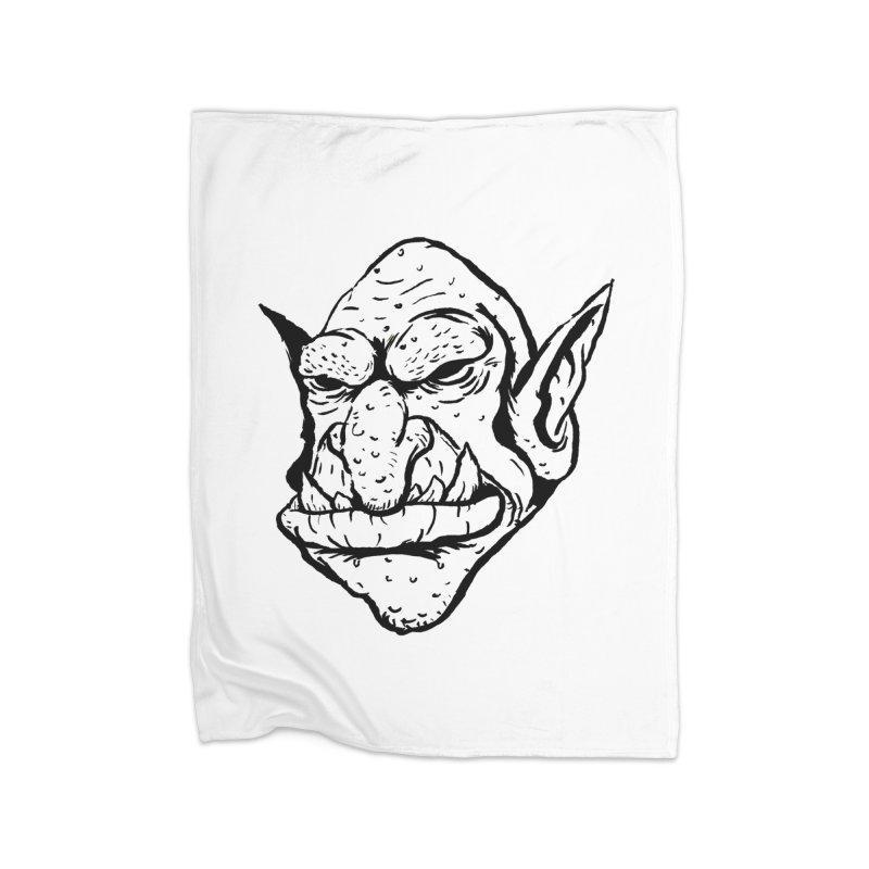 Goblin Home Blanket by tjjudgeillustration's Artist Shop