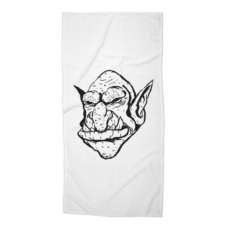 Goblin Accessories Beach Towel by tjjudgeillustration's Artist Shop