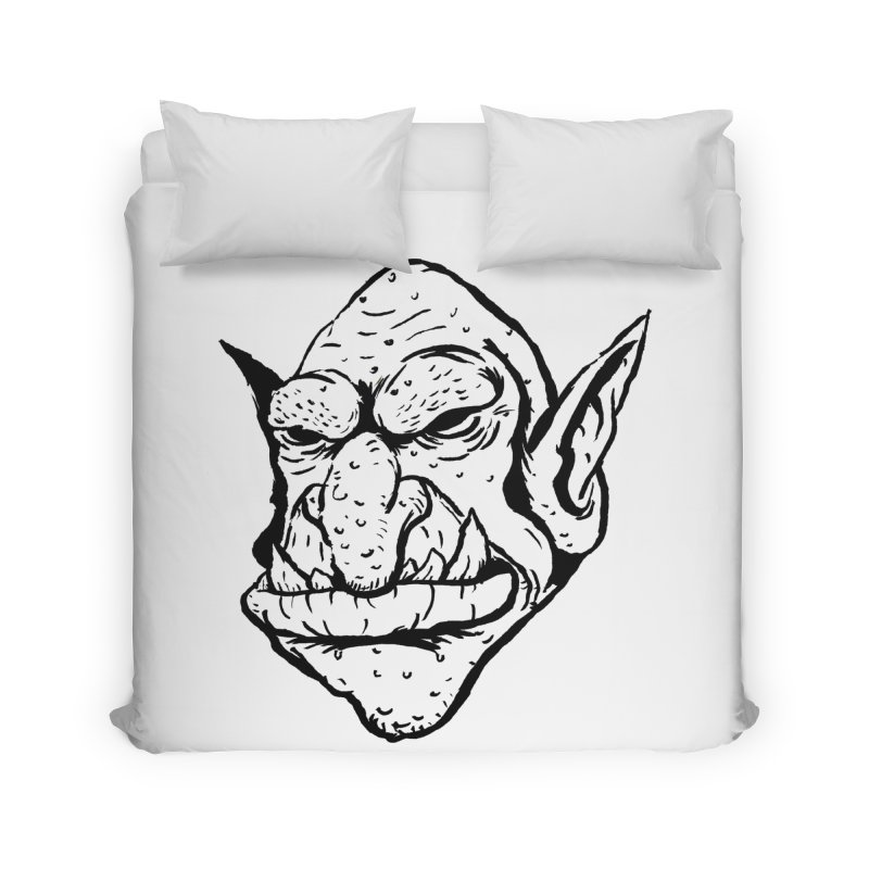 Goblin Home Duvet by tjjudgeillustration's Artist Shop