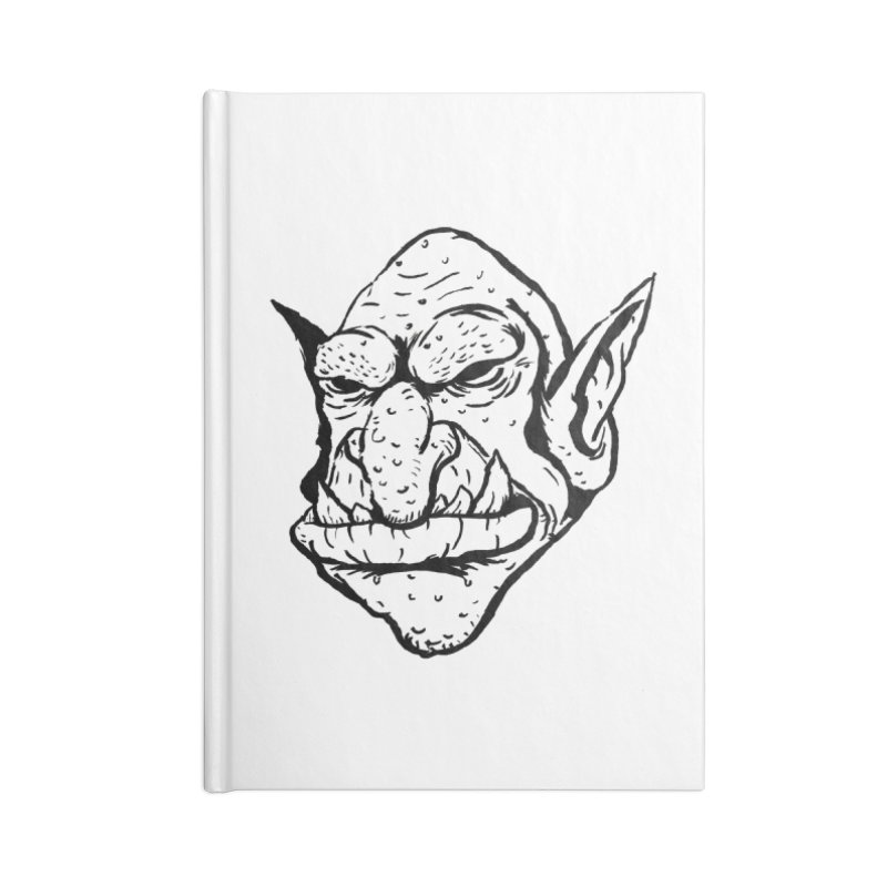 Goblin Accessories Lined Journal Notebook by tjjudgeillustration's Artist Shop
